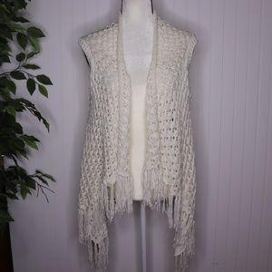 POL Crochet Cardigan Size Large